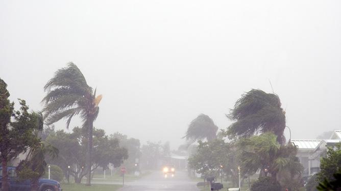 Large Storm Temp